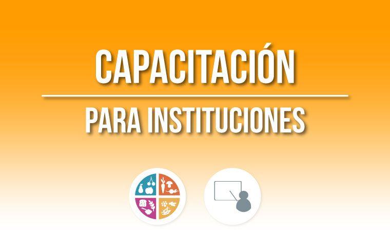 Capacitación a Instituciones